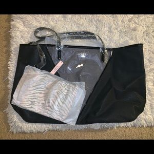 NWT Victoria's Secret Tote and Clutch set
